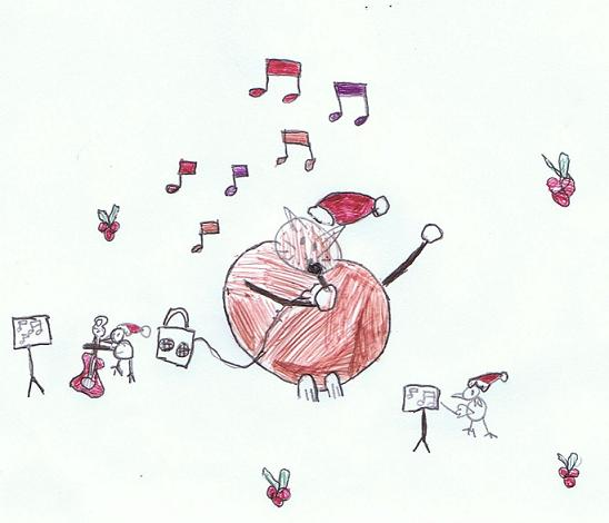 A 6-year-old's imaginary musical friends :)
