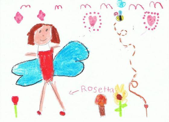 Rosetta_flower fairy