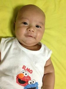 My gorgeous 4-month old nephew ;)