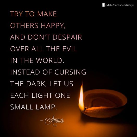 Light One Lamp