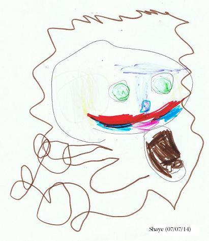 Shaye's drawing_lion