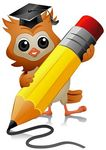 owl_writing_clipart