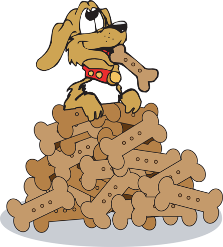 Image result for dog biscuit clipart