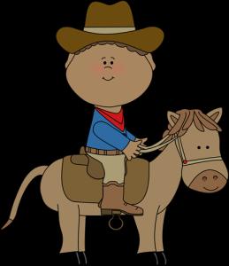 boy sitting on a horse