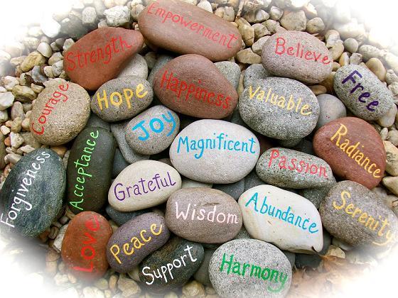 stones of encouragement