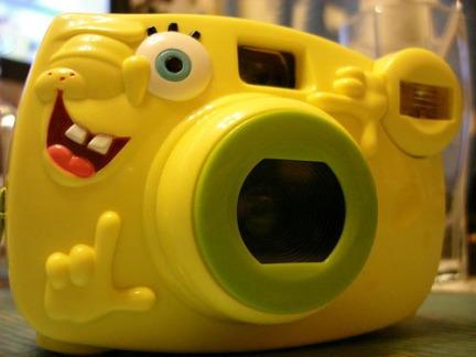 cute spongebob camera