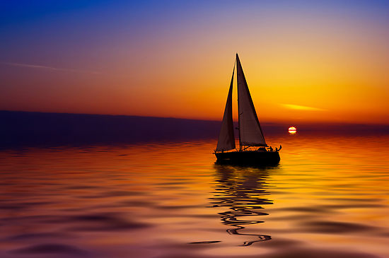 sailboat-against-a-beautiful-sunset