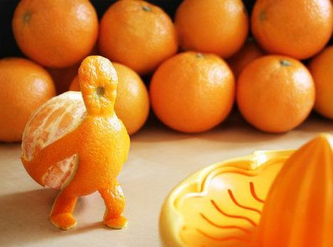 orange peel man