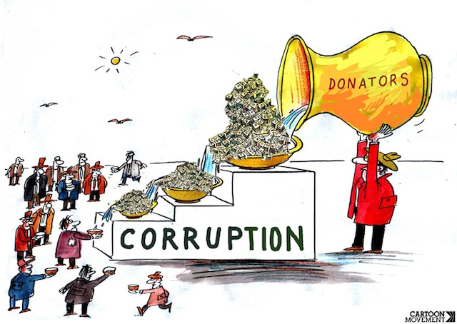 cartoon on corruption