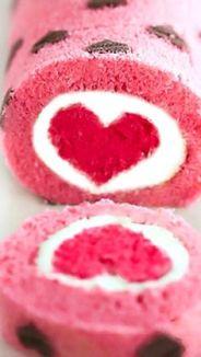 heart swiss roll