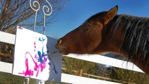 horse-painting