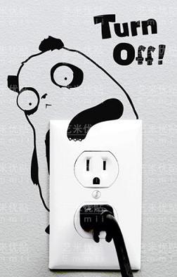panda turn-off