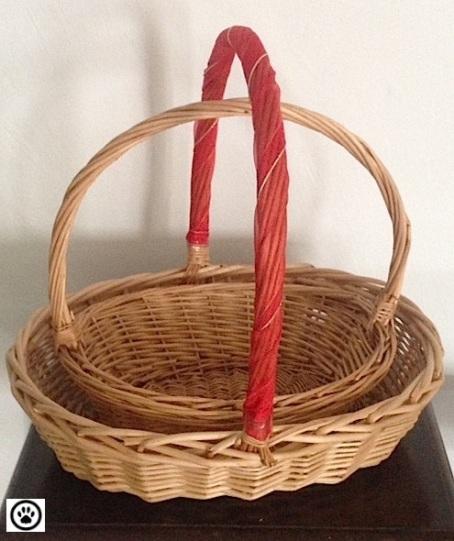 big and small baskets