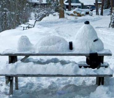 snoopy snow