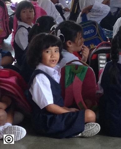 at school hall