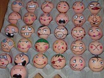 egg faces
