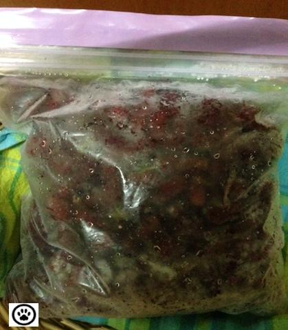 frozen mulberries