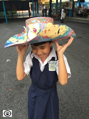 shaye wearing sombrero