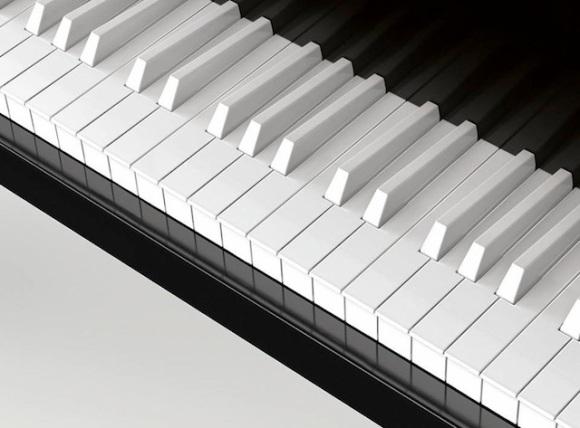 all white keys
