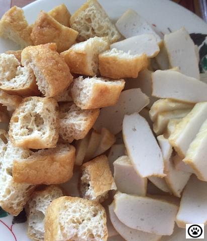 fishcake n tofu