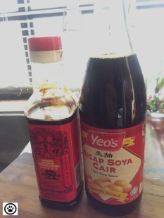 lite and dark soy sauce